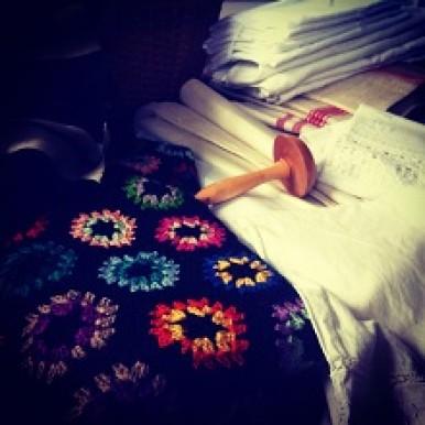 vintage tekstiler. Skønvirke