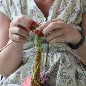 Lær at strikke hos SkønVirke