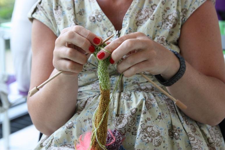 Knit in public med skønvirke