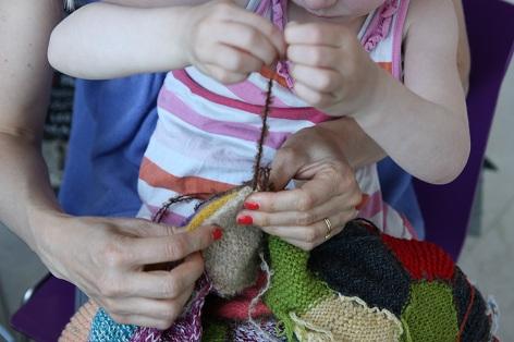 Skønvirke møder Knitting Bee