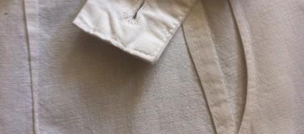 lommedetalje fra et vintage forklæde