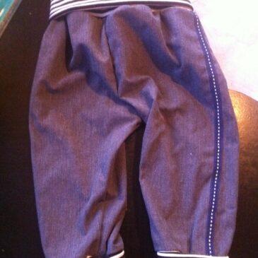Lær at sy bukser til børn